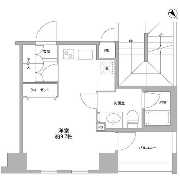 コンフォリア愛宕804号室
