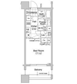 コンフォリア笹塚1205号室