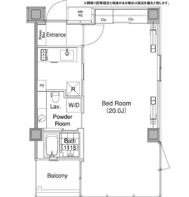 コンフォリア代官山1201号室