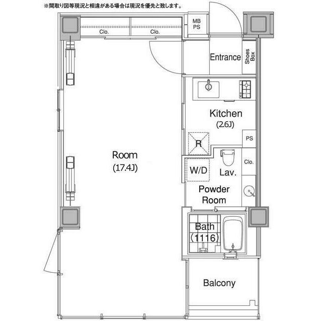 コンフォリア代官山1202号室