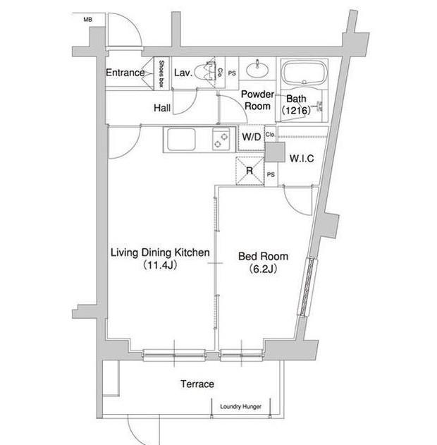 コンフォリア原宿110号室