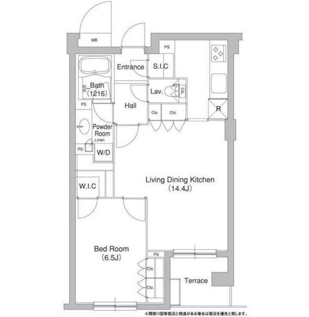 コンフォリア原宿112号室