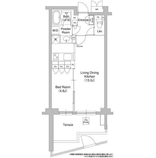 コンフォリア原宿117号室