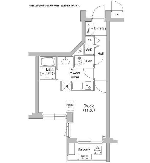 コンフォリア原宿307号室