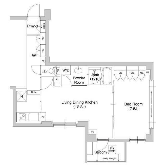 コンフォリア原宿413号室