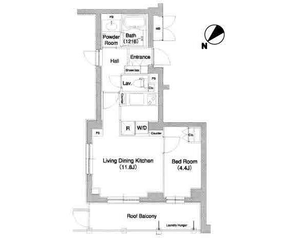 コンフォリア原宿509号室