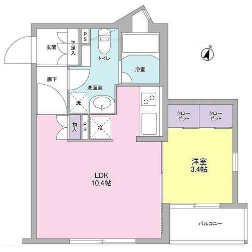 コンフォリア麻布台204号室