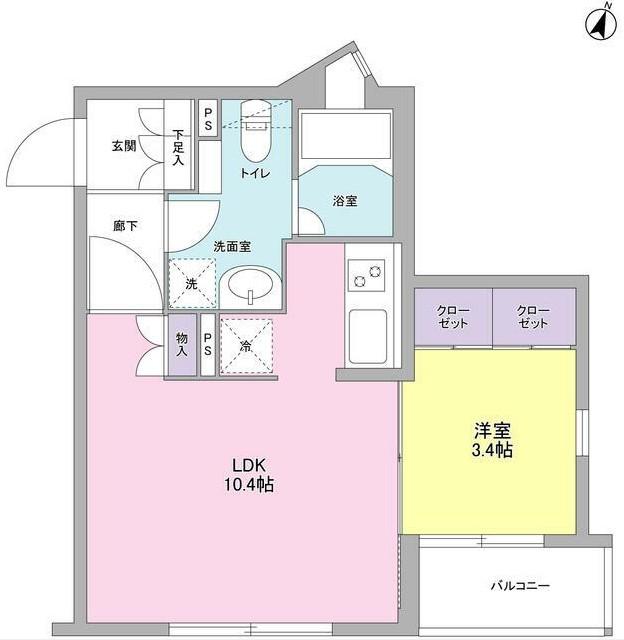 コンフォリア麻布台304号室