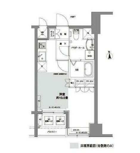 コンフォリア芝公園1102号室