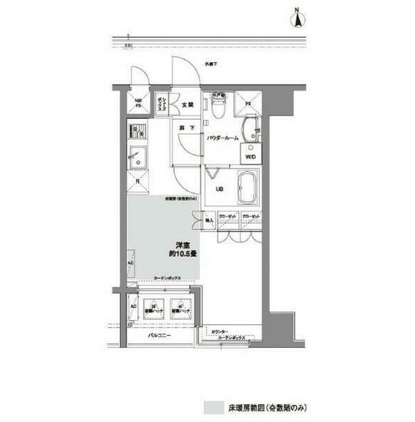 コンフォリア芝公園302号室