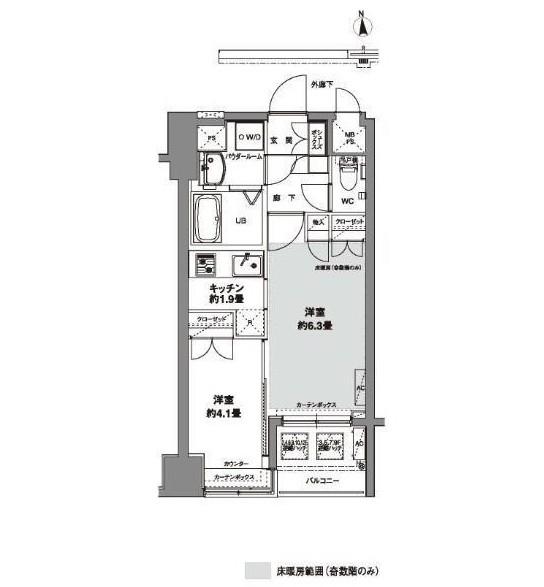 コンフォリア芝公園903号室