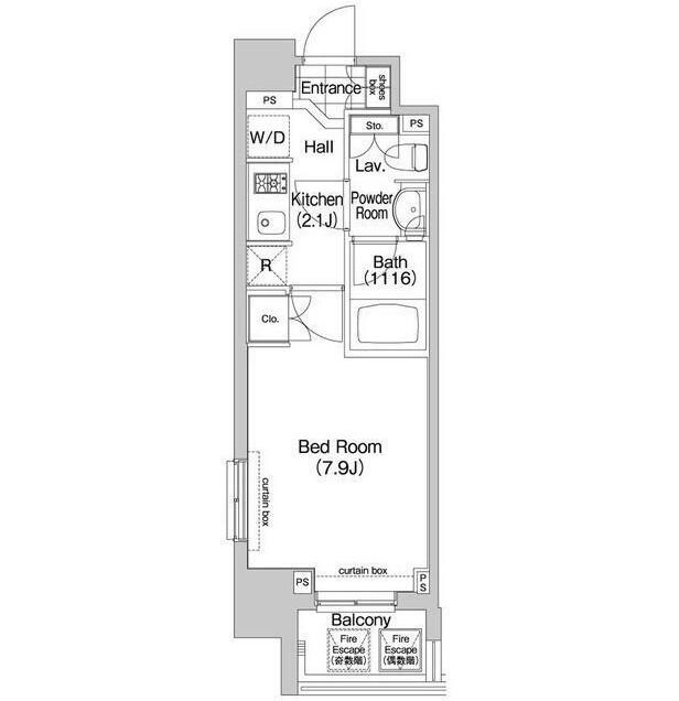 コンフォリア三田EAST206号室