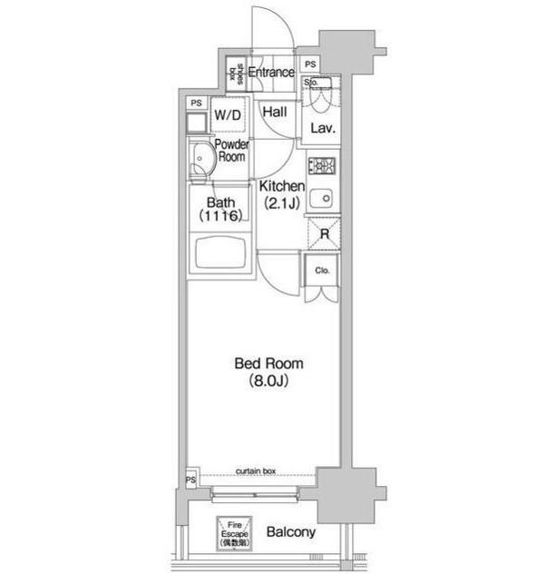 コンフォリア三田EAST803号室