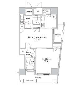コンフォリア三宿1103号室