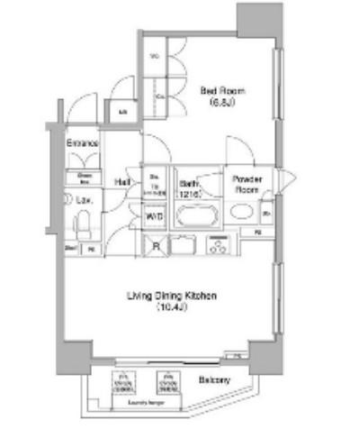 コンフォリア三宿1104号室