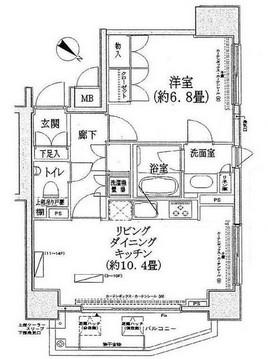 コンフォリア三宿605号室