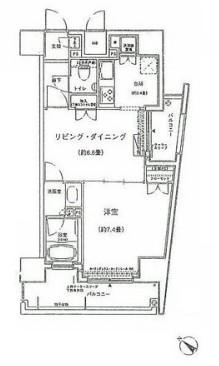 コンフォリア三宿704号室