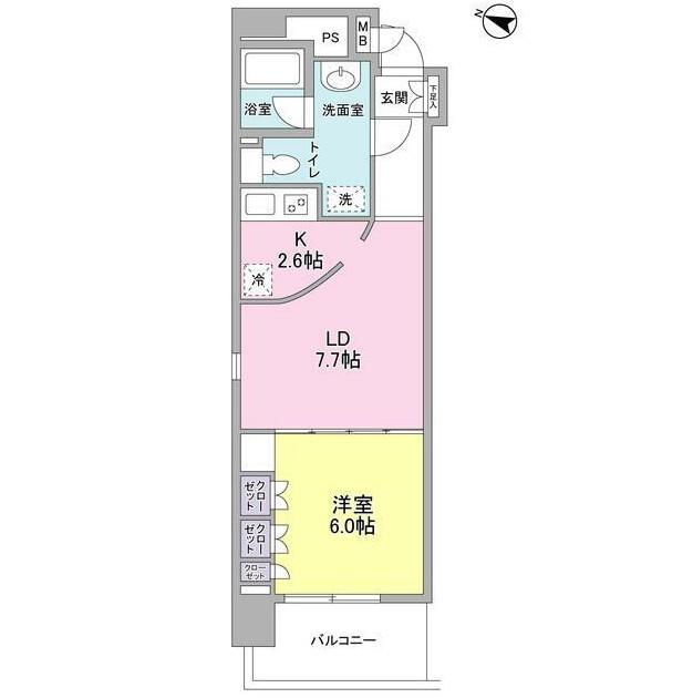 コンフォリア西麻布301号室