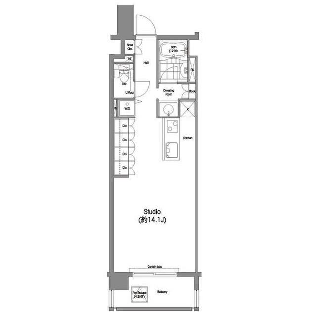 コンフォリア西麻布502号室