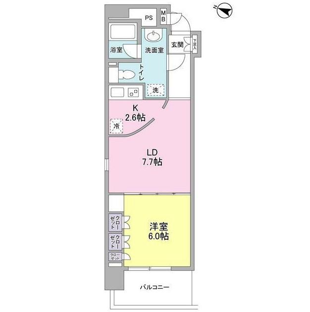 コンフォリア西麻布601号室