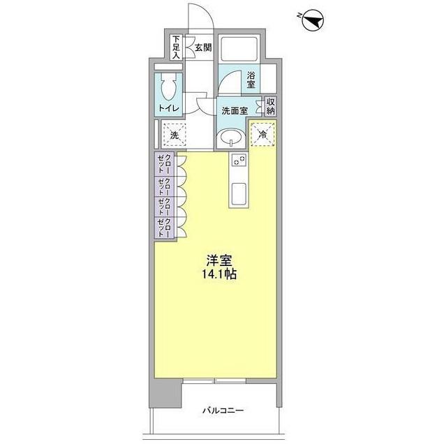 コンフォリア西麻布602号室