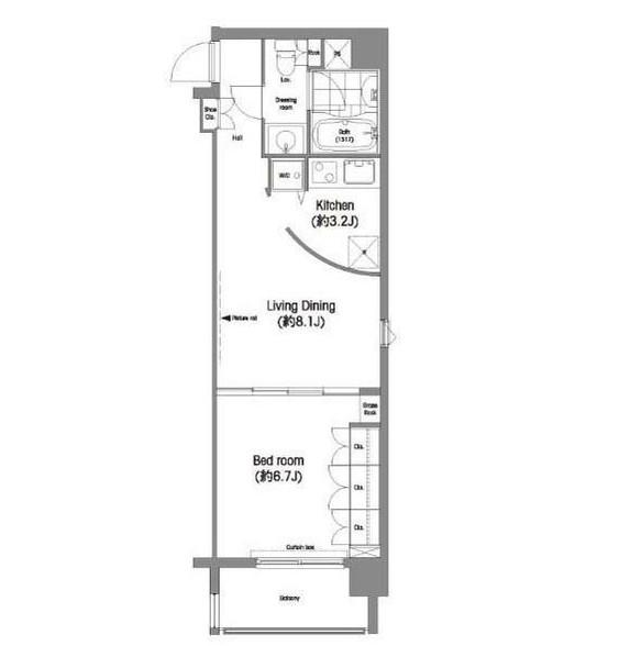 コンフォリア西麻布603号室