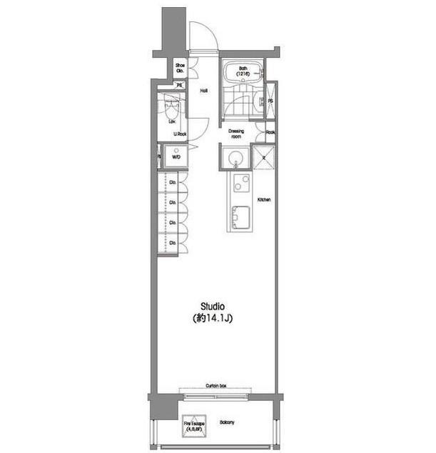 コンフォリア西麻布902号室