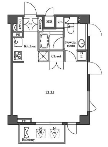 ステラメゾン白金台406号室
