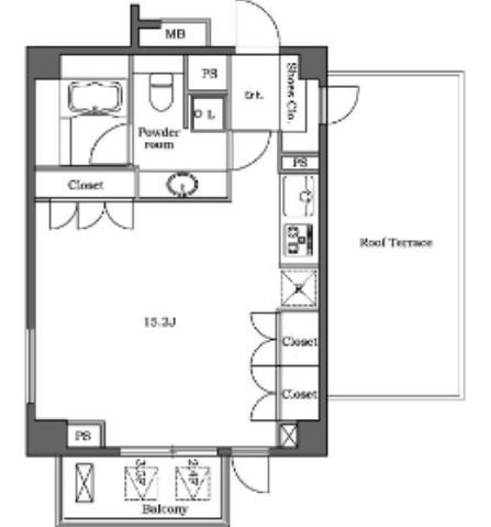 ステラメゾン白金台504号室