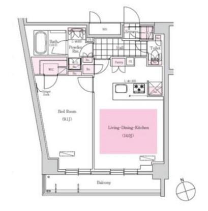 アーバネックス三田1206号室
