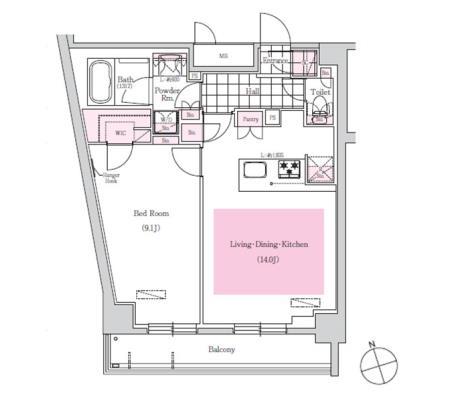 アーバネックス三田1306号室