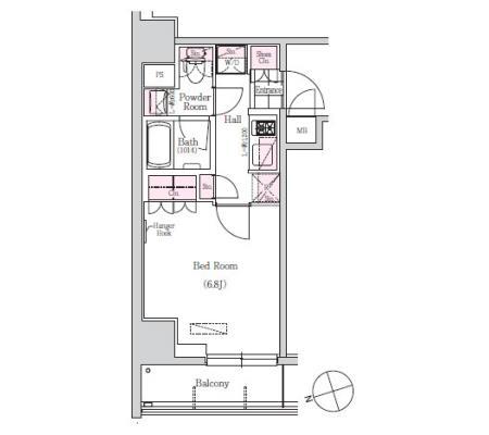 アーバネックス三田1404号室