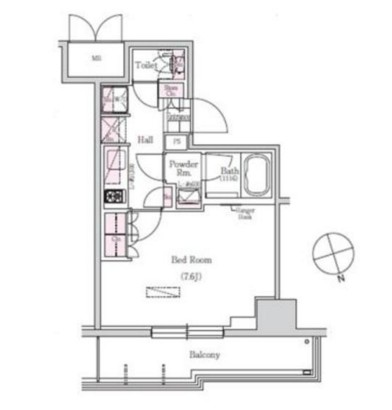 アーバネックス三田303号室