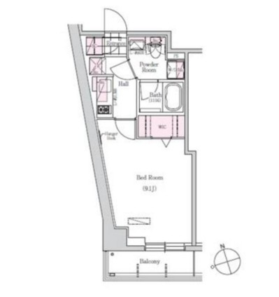 アーバネックス三田506号室