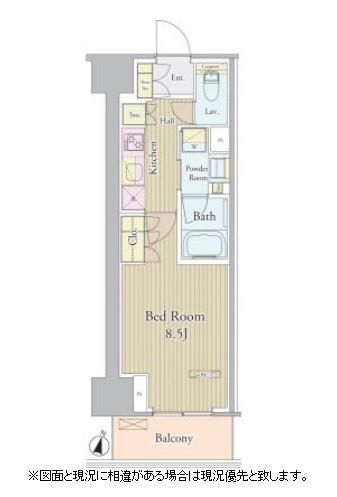 ヴェルデュール高田馬場805号室