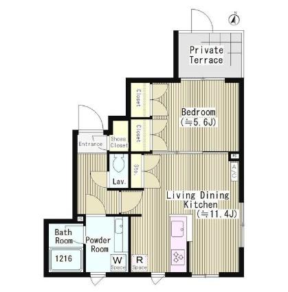 ファレール笹塚103号室