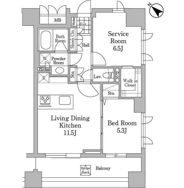 ユニコーンバリー恵比寿603号室