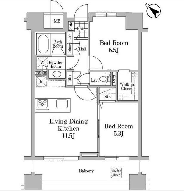 ユニコーンバリー恵比寿702号室