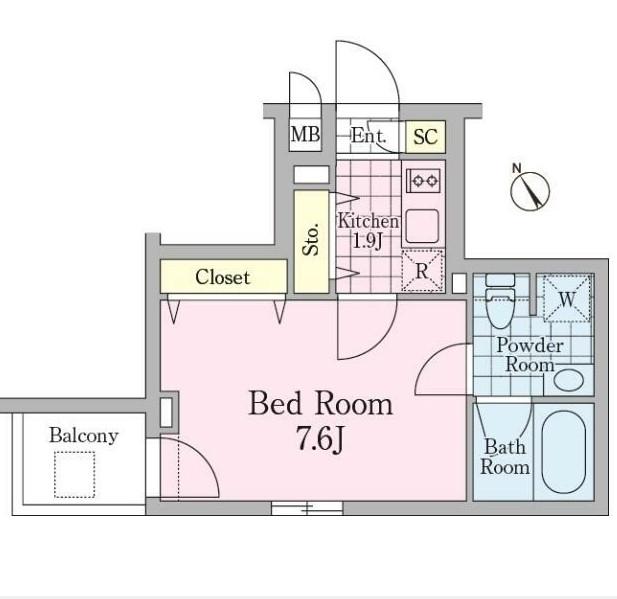 クロノガーデン神楽坂503号室