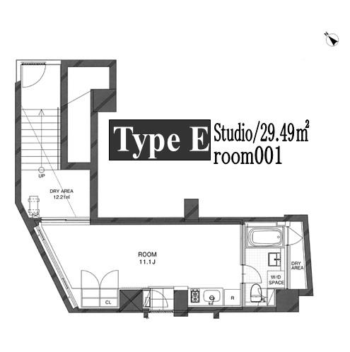 コートモデリア広尾001号室