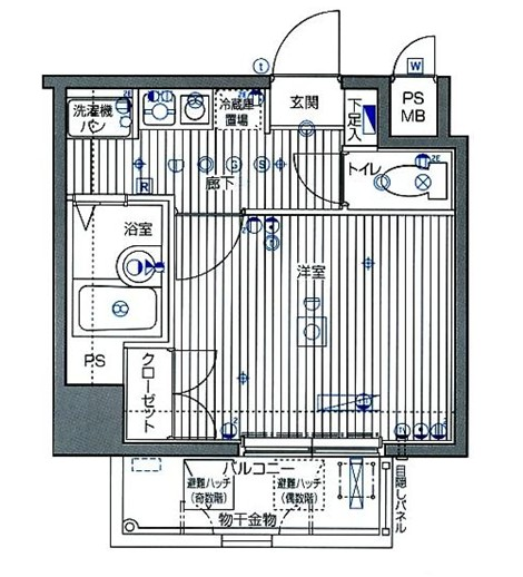 ガラ・シティ笹塚607号室