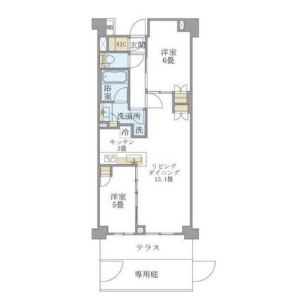 アパートメンツ中野弥生町109号室