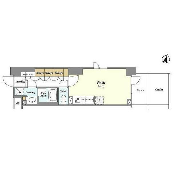 アパートメンツ中野弥生町125号室