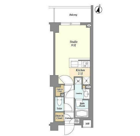 アパートメンツ中野弥生町229号室