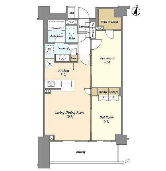 アパートメンツ中野弥生町317号室