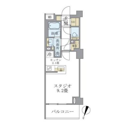 アパートメンツ中野弥生町424号室