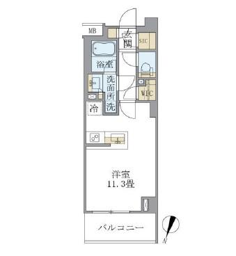 アパートメンツ中野弥生町426号室
