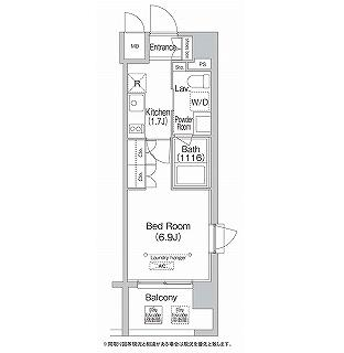 エミネンス高輪台1205号室