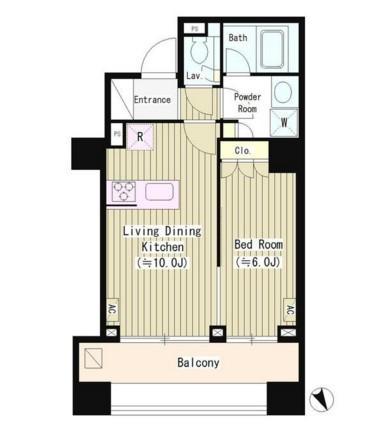 シティカレント南青山1203号室