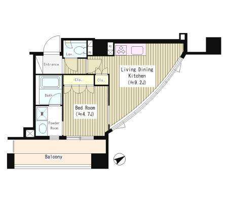 シティカレント南青山202号室
